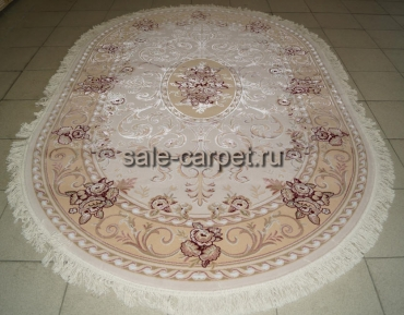 0520 cream beige oval